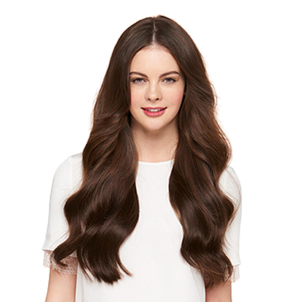 Halo Hair16 inch 90G #4 Medium Brown