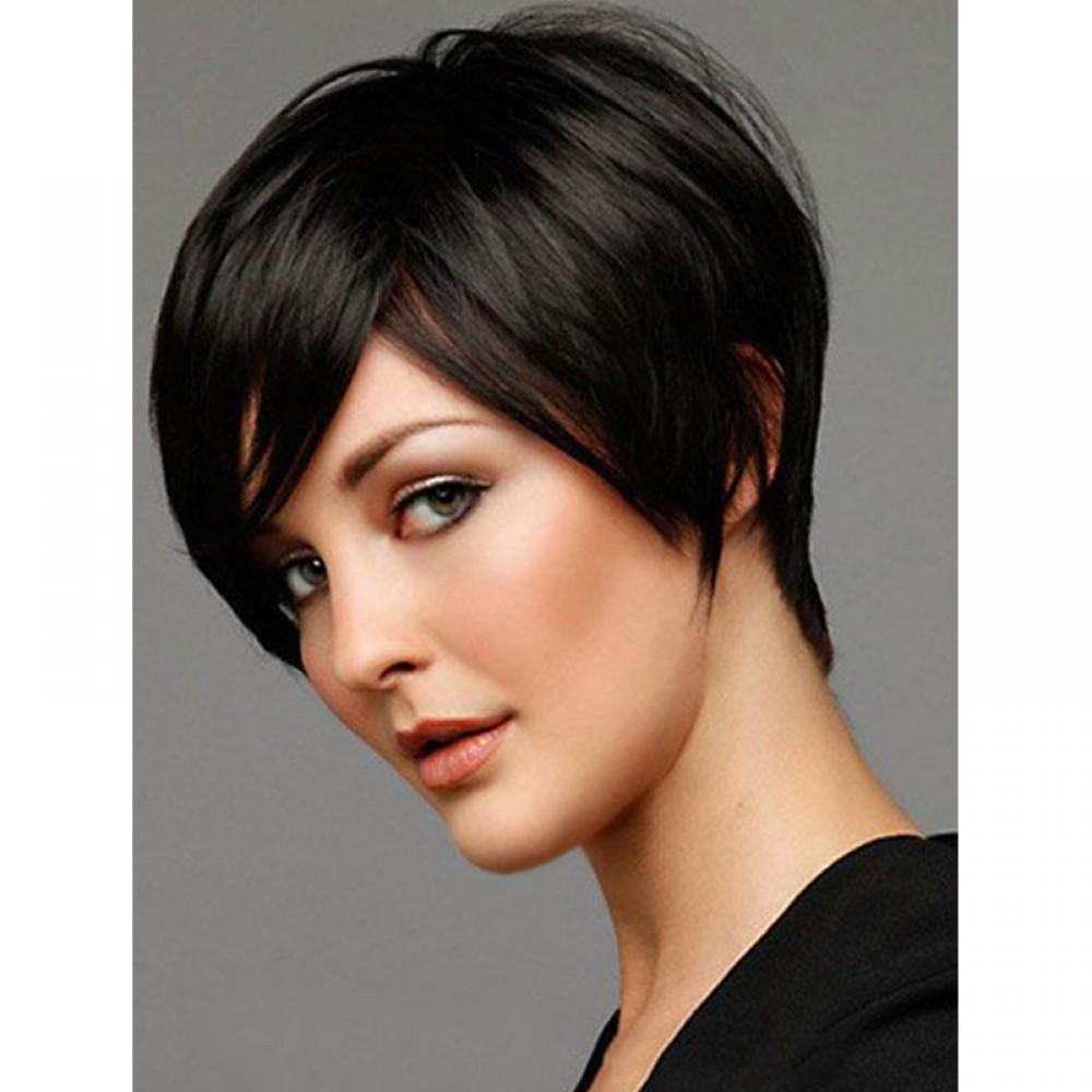 Remy Human Hair Topper  #2 Dark Brown