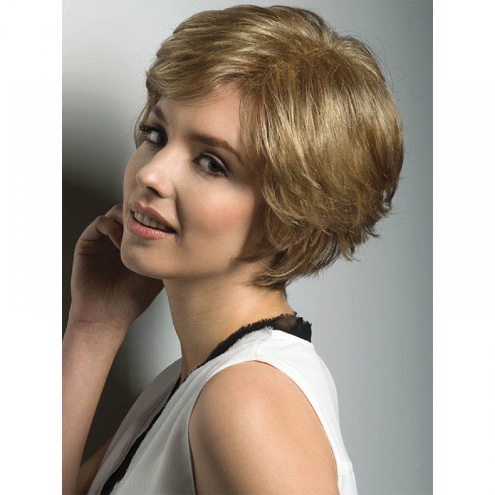 Remy Human Hair Topper #6 Light Brown