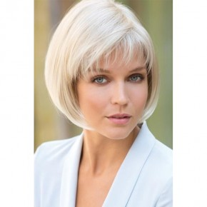 Remy Human Hair Topper #60 Platinum Blonde