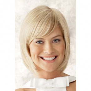 Remy Human Hair Topper #613 Bleach Blonde