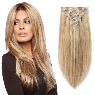 "180g 22"" Clip In Remy Hair Extensions #12/613"