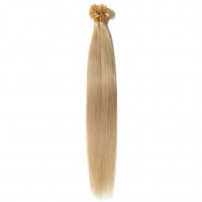 0.5g/s 100s #24 Ash Blonde Straight U-Tip Hair Extensions