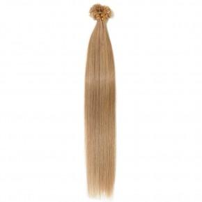 0.5g/s 100s #27 Dark Blonde Straight U-Tip Hair Extensions
