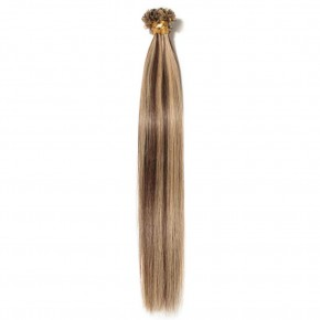 0.5g/s 100s #4/27 Straight U-Tip Hair Extensions
