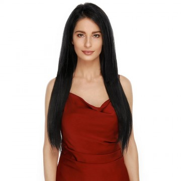 Clip in 16inch 160g #1 Dark Black